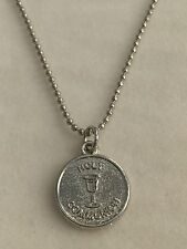 First Holy Communion Girls/Boys Circle Chalice Pendant Necklace/Keepsake Gift-UK