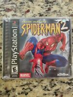 Spider-Man 2 -- Enter: Electro (Sony PS1, 2001) - BRAND NEW!  FACTORY SEALED!