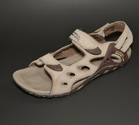 MERRELL Waterpro GANGES Sport Trail Sandals Womens US 10 BROWN Exceptional Cond.