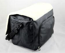 Unità sotto sedile sedia a rotelle con zip Borsa di stoccaggio con sedile in pile e cinturino