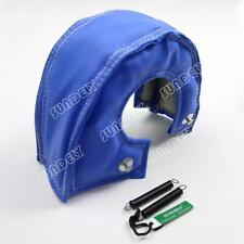 T3 T25 T28 GT25 GT35 Blue Turbo/Turbocharger Heat Shield Blanket Cover Wrap