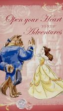 Beauty And The Beast Fabric Quilt Panel New Belle