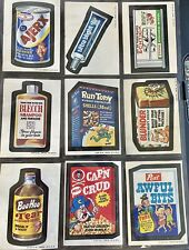 1973 Topps Wacky Packages 2nd Series Complete Set High Grade TAN BACKS + Puzzle