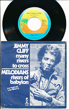"""JIMMY CLIFF 45 TOURS 7"""" HOLLANDE MANY RIVERS TO CROSS"""