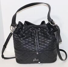 NEW Guess Kiley Bucket Bag Crossbody Handbag Purse Black NWT