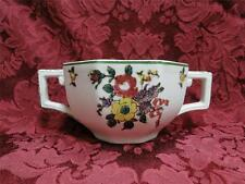 Royal Doulton Old Leeds Sprays, Multisided, Green Trim: Cream Soup Bowl (s)