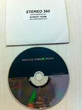IROQUOIS STEALTH PILOTS Superfreaker VASOLINE MOUTH Sick Of You ADVANCE Promo CD