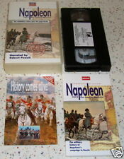 Napoleon 1812 the Road to Moscow VHS & Book Borodino Narrated By Robert Powell