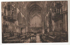 Worcester Cathedral - Photo Postcard c1910