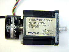 Vexta Oriental A6331-9215K 5-Phase Stepping Motor w/ MTL MEH-30 Micro Encoder