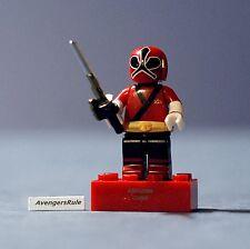 Mega Bloks Power Rangers Series 2 Metallic Red Ranger Samurai Mode Common
