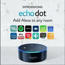 Amazon Alexa Echo Dot 2nd Generation Colour Black Home Automation Smart Home