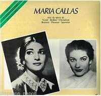 Maria Callas: Airs De Œuvres Di : Vert, Bellini, Chérubins, Rossini, Thomas - LP
