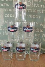 Set Of 6 ROTHMANS King Size Glasses . FREE UK P+P ..............................
