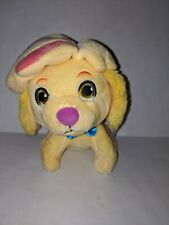 Fisher Price Nickelodeon Sunny Day Doodle Yellow Puppy Dog Plush 7 Inches New