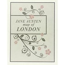 Jane Austen Map of London by Aventuras Literarias S.L. (Sheet map, folded, 2015)