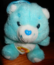 Peluche BISOUNOURS Plush Care Bears Wish bear GROSTAQUIN Vintage 18 cm