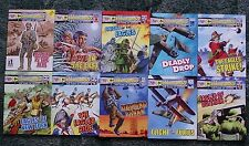 10 X COMMANDO THE HOME OF HEROES,WAR COMICS,BULK LOT COLLECTION,1