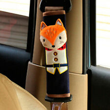 New Cute Car Safety Seat Belt Shoulder Pad Strap Cover Harness Supplies Fox LS