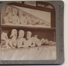 Triple Bodied Monster Acropolis Museum Athens Greece Underwood Stereoview 1907