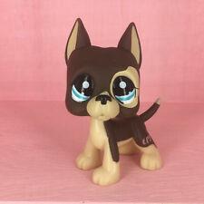 2pcs Littlest Pet Shop Rare Kitty #138 #1439 LPS Cat Brown Dane Dog Tattoo Toys