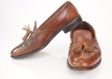 Allen Edmonds Mens Auburn Tassel Loafers Size 8.5 D