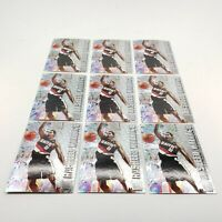 FLEER Metal 96-97 Rasheed Wallace Lot of 9 NBA Basketball Cards! #208 Blazers