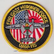 VAW-115 LIBERTY BELLS FAR EAST HUMMER FORCE SHOULDER PATCH