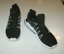 NIKE Shox Gravity Black Fabric Low Top Men's Lace Up Running Sneaker size 10.5