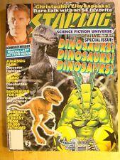 Starlog Magazine August 1993 No 193 Dinosaurs Christopher Lloyd Godzilla Gorgo