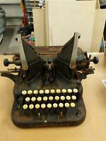 Antique OLIVER NO. 5 BATWING TYPEWRITER for Parts or Restoration