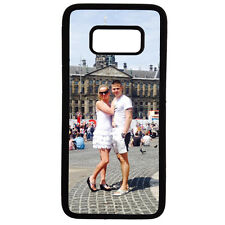 SAMSUNG GALAXY S8 - PERSONALISED SOFT SILICONE CASE with your own photo