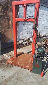 30 ton long reach press lovely condition comes from an engineer s workshop