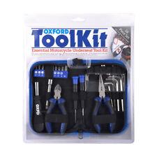 Oxford Accessories Motorcycle Motorbike Underseat Tool Kit 28 Piece Set Of291