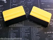 Two Felt Squeegee Vinyl Installation Applicators Sign Making Graphic Wall Wrap