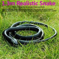 130cm Réaliste Serpent Sonnette Trick Terrifiant Mischief En Effrayant Jouets +A