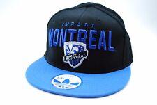 Impact Montreal FC Adidas MLS Soccer Team Logo Stretch Fit Cap Hat L/XL