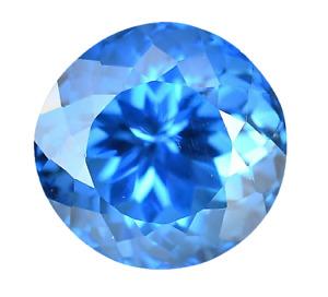 Natural Ceylon Blue Spinel 13.95 Ct Round Cut STUNNING Certified AAA+ Gemstone