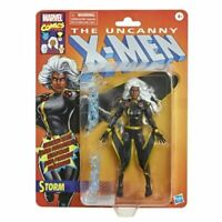 Marvel Legends Storm Black Outfit X-Men Action Figure 6-Inch Black Suit Retro