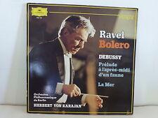RAVEL boléro DEBUSSY la mer orch philharmonique Berlin dir VON KARAJAN 2542184