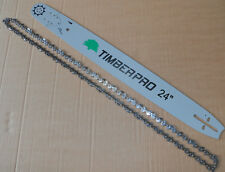 "Timberpro 24 ""Barra Y Cadena Para cs-6150 62cc Gasolina Motosierra. 24 Pulgadas Set"