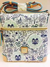 New Disney Vacation Club Dooney & Bourke Dvc Letter Carrier Crossbody Bag
