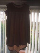 Blusa Para Mujer Talla 10 por Boohoo en marrón