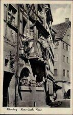 Nürnberg Mittelfranken AK ~1920/30 Hans Sachs Stube Haus Fachwerk Verlag Zemsch