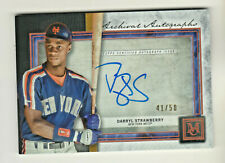 2020 Museum Collection ARCHIVAL AUTOGRAPH COPPER DARRYL STRAWBERRY 41/50 AUTO