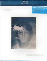 NEW BLU RAY - JOHN LENNON DOUBLE FEATURE - IMAGINE + GIMME SOME TRUTH - 5.1 AUDI