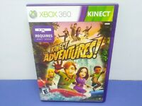Kinect Adventures (Microsoft Xbox 360, 2010) Complete W/ Manual Kinect Required