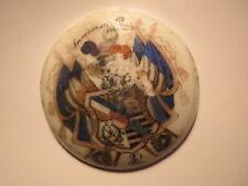 Stuttgart - Landsmannschaft Saxonia - 1893 - Porzellan mit Wappen / Studentika