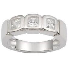 Fossil Schmuck Damen-Ring JF13299 Gr. 17 Fingerring Silber / Zirkonia Fossil-Box