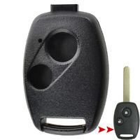 2 Button Key Replacement Repair Kit For Honda Accord Civic CR-V Remote Case Fob